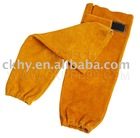 Welder leather sleeve