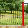 curved welded fence