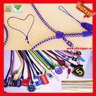 2013 New trend best factory quality custom zipper lanyard