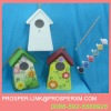 DIY ceramic product bird house