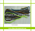Cotton waxed shoe lace