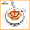 fashion diamond crown key ring watches (T00053)