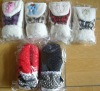Children glove for winter with polyester lining and fashion design for 2013