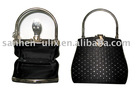 EVENING WEDDING HANDBAGS IN STYLISH DESIGN WITH BELT LOCK