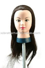 Fashion 100% human hair training head