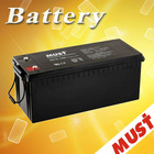 Long Service Life 12v180ah battery solar