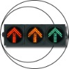 high power led traffic lights with CE/RoHS