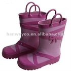 Girls rubber boots stocklots KN120828