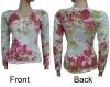 Colourful Ladies Lycra T-shirt Fashion Top