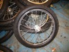 Bicycle tralier rubber wheels 16x2.125
