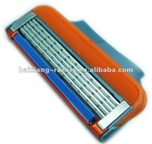 F5 High Quality Shaving razor blades with 4pcs packing in a cartridge