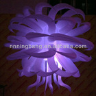changing lighting color decoration inflatable star for wedding