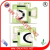 double-sided 95% alumina ceramic pcb board for automobile instrument