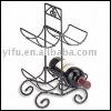 170306 decorative metal wine rack