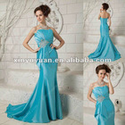New Arrival Fashion Strapless Mermaid Long Train Evening Dresses xyy04-202 Any Color Available