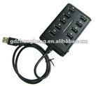 Cheap 10 ports with switch USB HUB 2.0