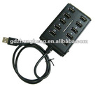 Cheap 10 ports with switch USB HUB 2.0