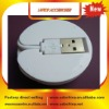 4 Ports Fodable Round shape usb 2.0 hub