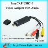 EasyCAP USB2.0 video audio capture adapter