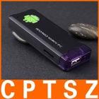 HDMI MK802 Android TV Dongle Stick AllWinner A10 Android 4.0 ICS Mini PC 1GB RAM 4GB Nand Flash MINI PC