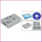 USB 2.0 Sharing Switch Hub 2 PC to 1 Printer Scanner