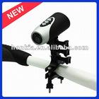 2012Newest 720P UnderWater Helmet Camera with 20M Waterproof as Helmet, Motorcycle,Bike,Arm and Car Camera