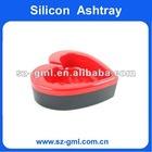 heart shaped silicone Ashtray