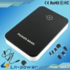 6600mah Portable Power Bank for Iphone 4s/ Ipad/ mobile phone/Tablet PC, Dual USB Ports Charger