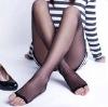 Core Spun T Crotch Open Toe Stocking / pantyhose / Silk Stocking / Tights / Leggings