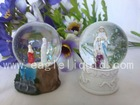 water globe, plastic snow globe,water ball