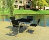 HPL outdoor table and chair