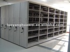 Steel mass shelf for library