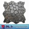 black granite mosaic