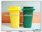 Plastic Pen holder in dustbin shape