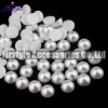 High Quality ABS/Plastic Half Pearl Beads (Pure White)