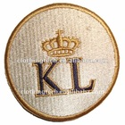 round embroidery patch