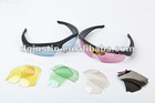 720P HD sunglasses camera with 6 replaceable colorful lens
