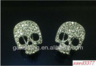 316L stainless steel diamond stud earrings