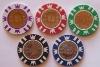 Round ABS Casino Chip