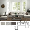 most popular corner sectional fabric sofa
