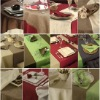 100% Polyester dyed Table Cloth (home textile)