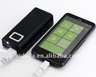 5000mAh portable usb emergency mobile charger for Iphone