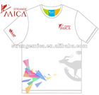 promotional and advertising 100 polyester t shirts