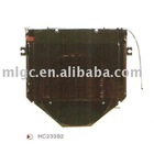 reliable fork lift part accessories radiator radiation china export