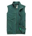 polar fleece zip up vest for men