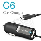 Mini Car Charger for Samsung galaxy s3/Blackberry/HTC/iphone with 12v Cigarette Lighter Socket