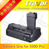 Excellent perfomance battery pack for CANON 550D/600D/650D
