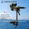 7GX-9.0 MIHENG 12hp 4strokes gasoline outboard engine