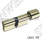 LB05 PB door cylinder, cylinder lock body, furniture hardware, door lock