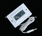 Multifunction digital thermometer module with frame